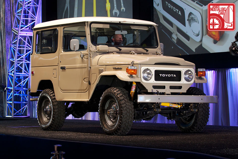FJ40 Toyota Land Cruiser Gooding Auction