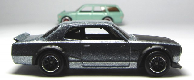 Hot Wheels Boulevard Nissan Skyline hakosuka Datsun 510 wagon