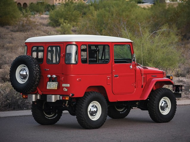 RM Auctions 1978 Toyota Land Cruiser FJ40