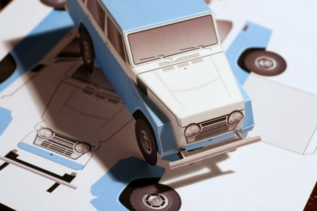 Toyota FJ55 Land Cruiser PaperCraft