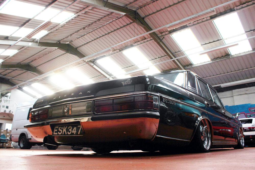 Nissan President lowrider 2