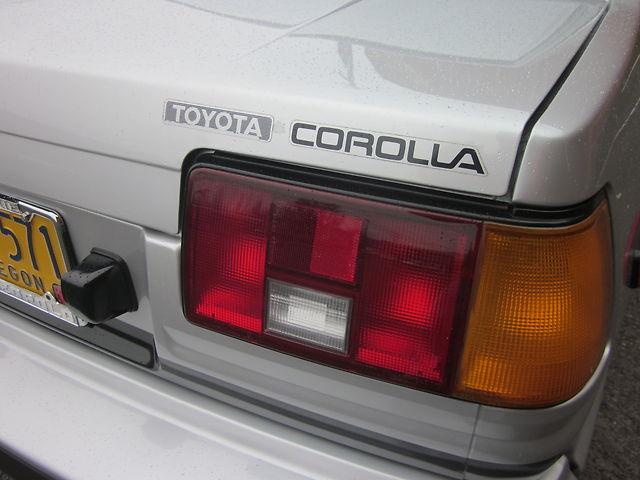1985 Toyota SR5 AE86 12
