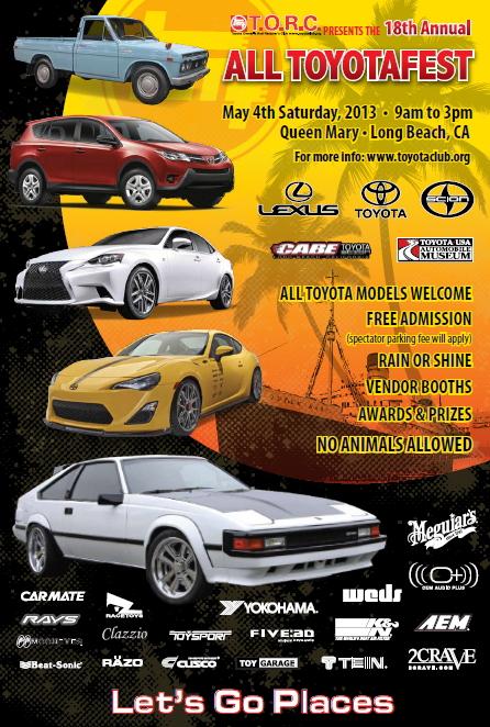 2013 Toyotafest Flyer