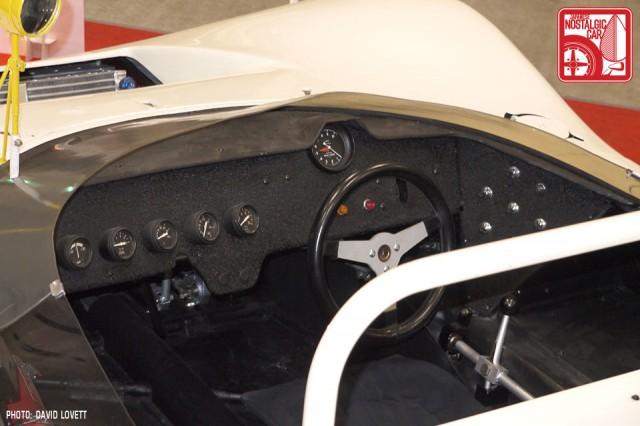 Nissan R381 Interior