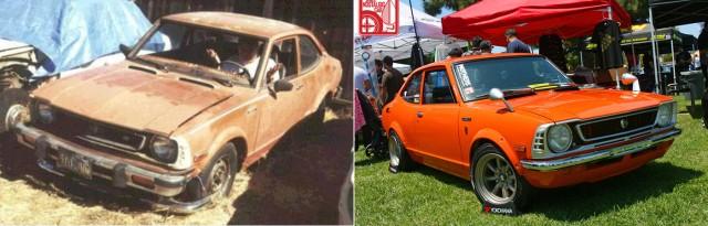 Patrick Ng TE27 Corolla Levin before & after