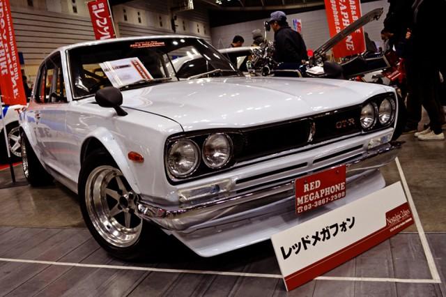 n2d009_Nissan Skyline KGC10 Red Megaphone