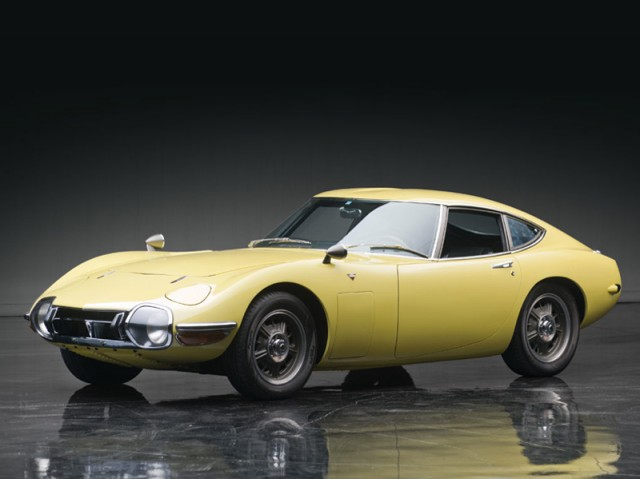 1967 Toyota 2000GT belatrix yellow 02