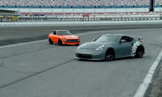 Nissan Columbus Ohio >> VIDEO: One man's RB-powered 240Z vs Nissan's crowdsourced ...