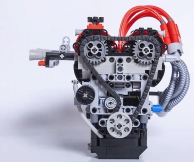 Toyota 4AGE lego