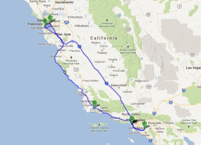 2013 April JNC Map