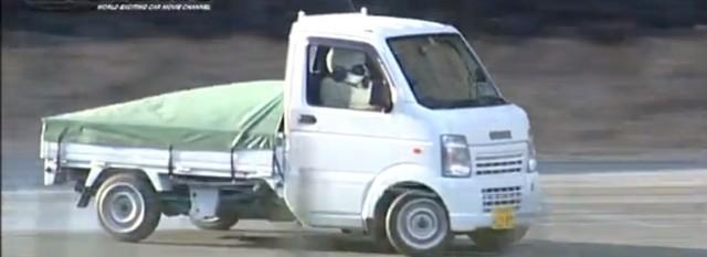 kei truck drift