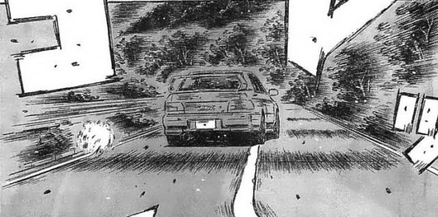 Initial D final chapter Subaru Impreza