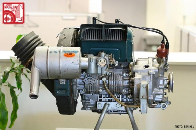 003_Subaru 360 engine_Subaru BRAT
