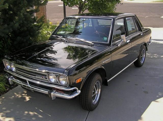 1971 Datsun 510 black