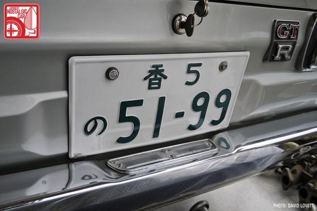 Skyline License Plate