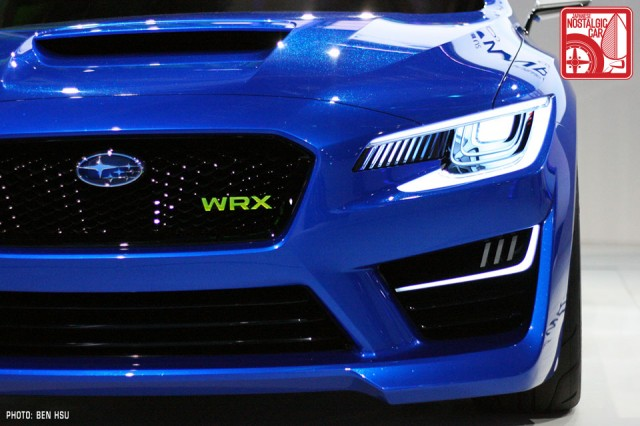 Subaru WRX Concept headlight