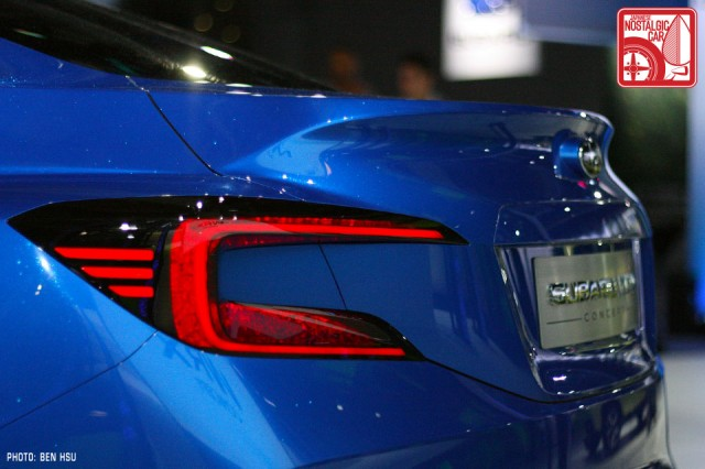Subaru WRX Concept tail light