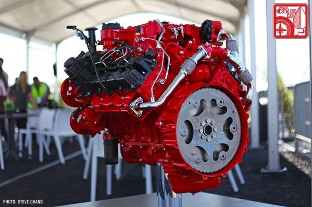0322-8489_2015 Nissan Titan Cummins V8 compound turbo diesel