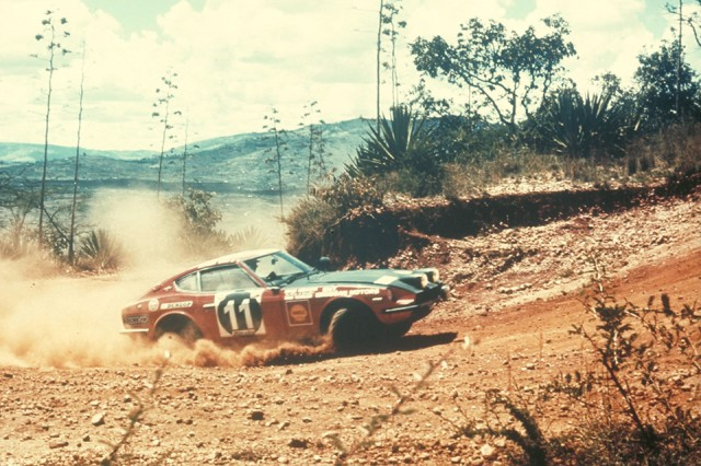 1971 East African Safari Rally Datsun 240Z