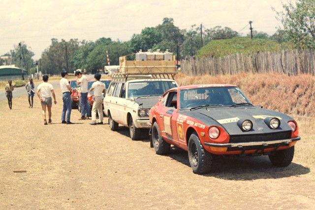 1971 East African Safari Rally Datsun 240Z Cedric wagon