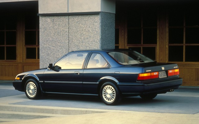 1989 Honda Accord coupe