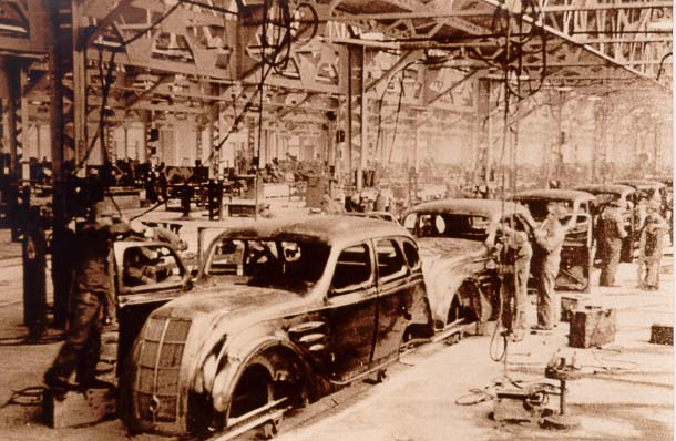 Toyoda AA factory