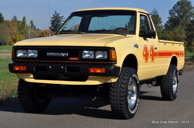 Kidney Anyone 1983 Datsun 720 Pickup On Ebay With No