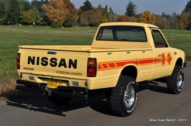 KIDNEY, ANYONE? 1983 Datsun 720 Pickup on eBay with No