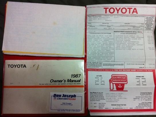 23_1987 Toyota Corolla GT-S AE86