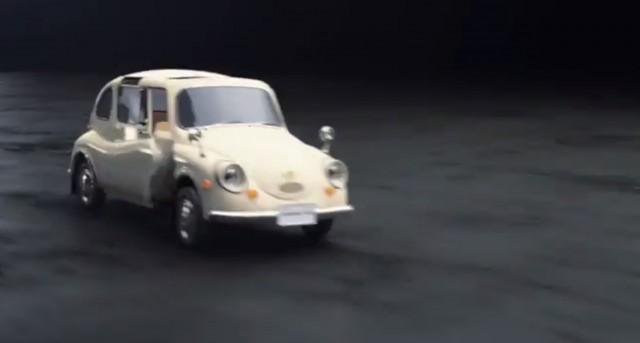Chain of Subaru transforming