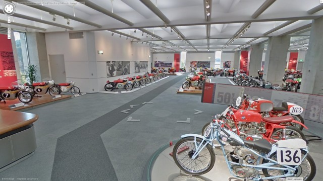 Honda Collection Hall bikes