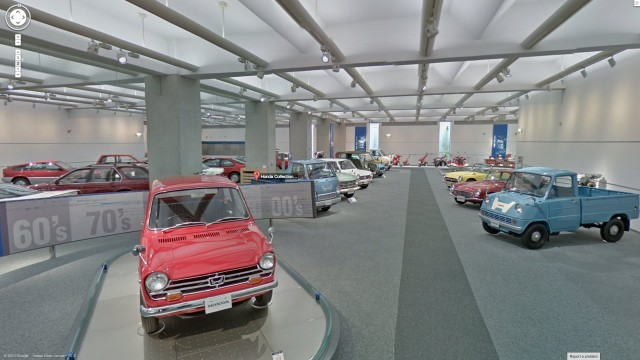Honda Collection Hall classic cars