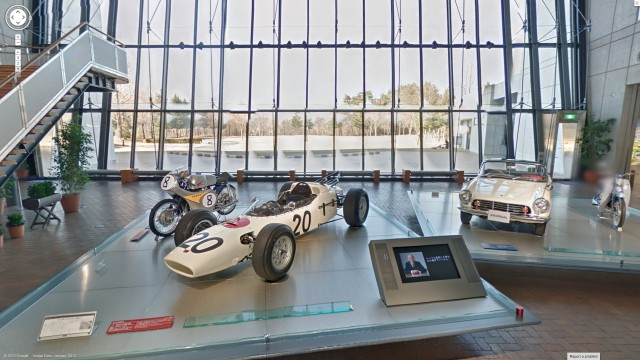 Honda Collection Hall lobby