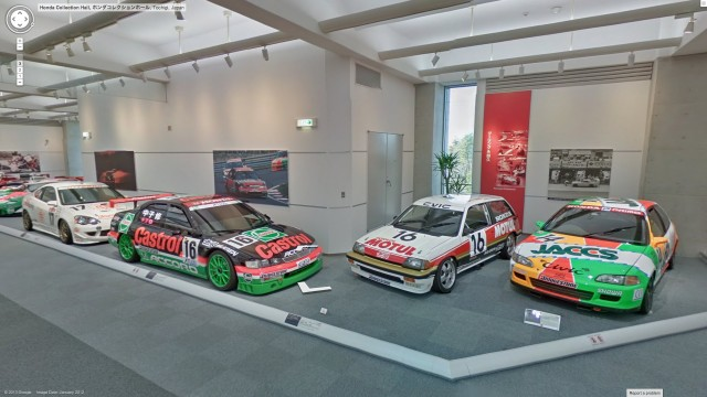 Honda Collection Hall race cars