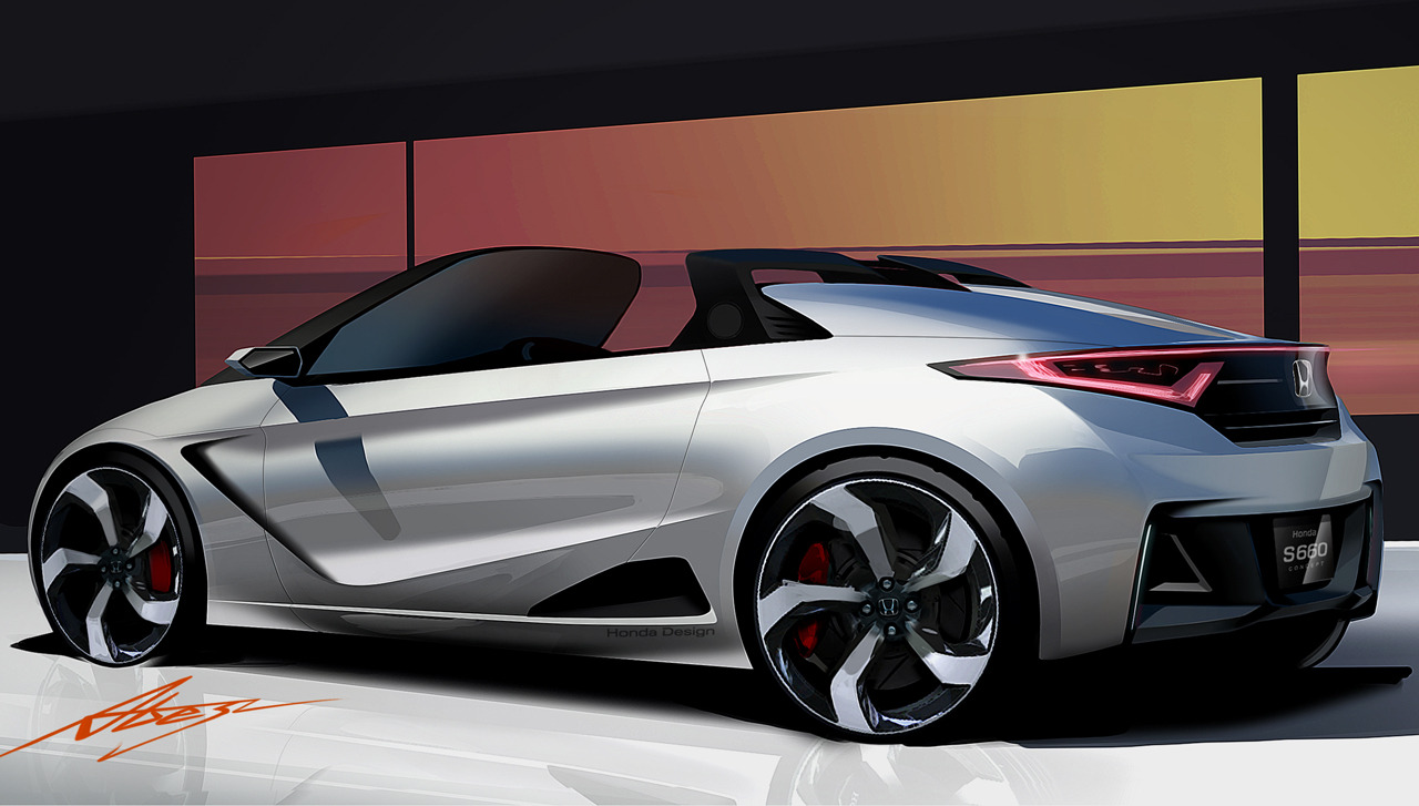 NEXT VERSION: Honda S660 Concept Pays Homage To S600/S800