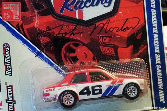 Hot Wheels Vintage Racing John Morton Datsun 510 BRE