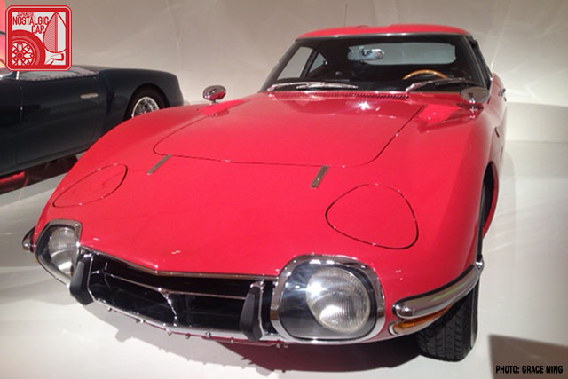 1967 Toyota 2000GT Solar Red 01