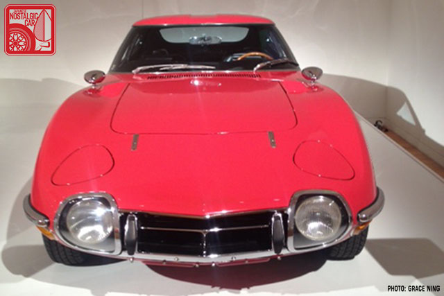1967 Toyota 2000GT Solar Red 03