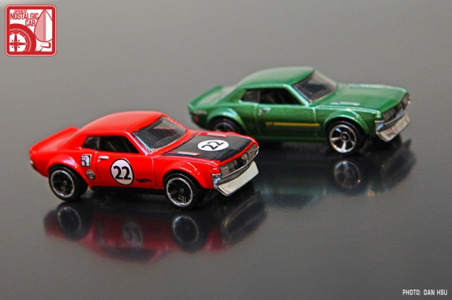 Hot Wheels 1970 Toyota Celica red 01