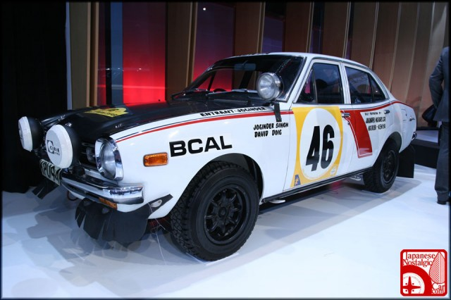 Mitsubishi Lancer 1600 GSR Safari Rally 01