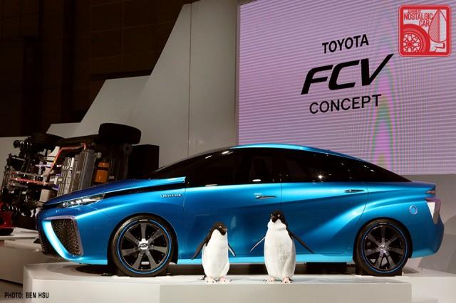 Toyota FCV concept Tokyo Motor Show