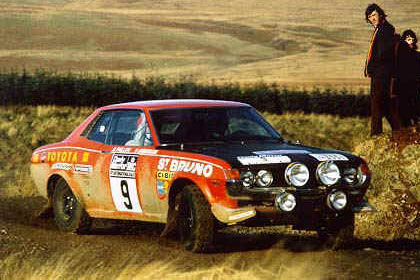 Toyota Team Europ 1971 Celica