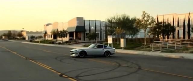 Electric Federal Datsun 240Z