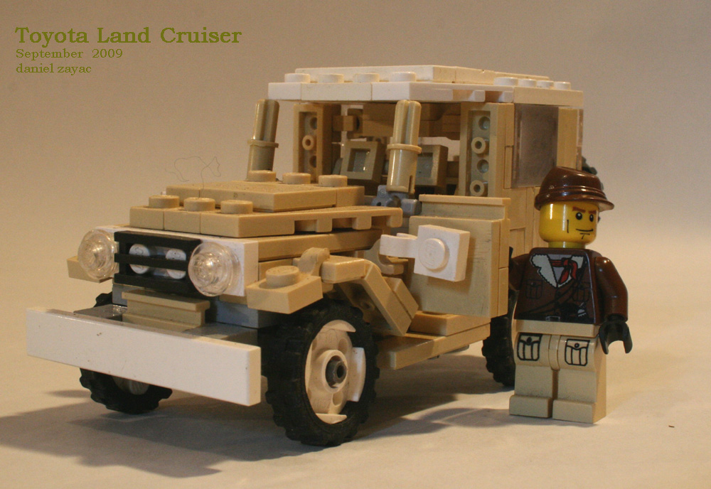 Lego Toyota Fj40 Land Cruiser Japanese Nostalgic Car