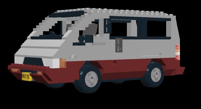 Lego Toyota Tarago Van