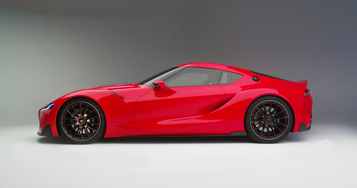News Supra 2000gt Inspired Toyota Ft 1 Concept Unveiled Japanese