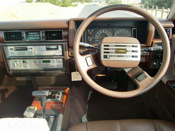 1984 Nissan Gloria Turbo Brougham VIP Super Selection Ⅱ interior