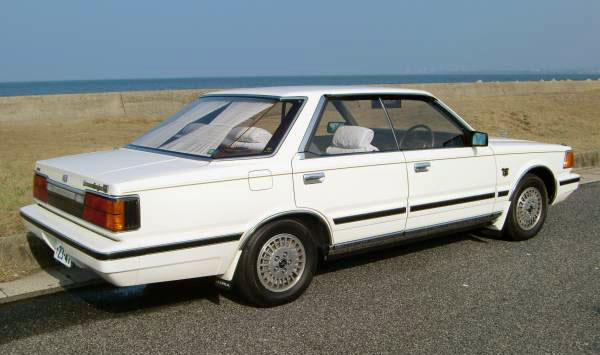 1984 Nissan Gloria Turbo Brougham VIP Super Selection Ⅱ rear