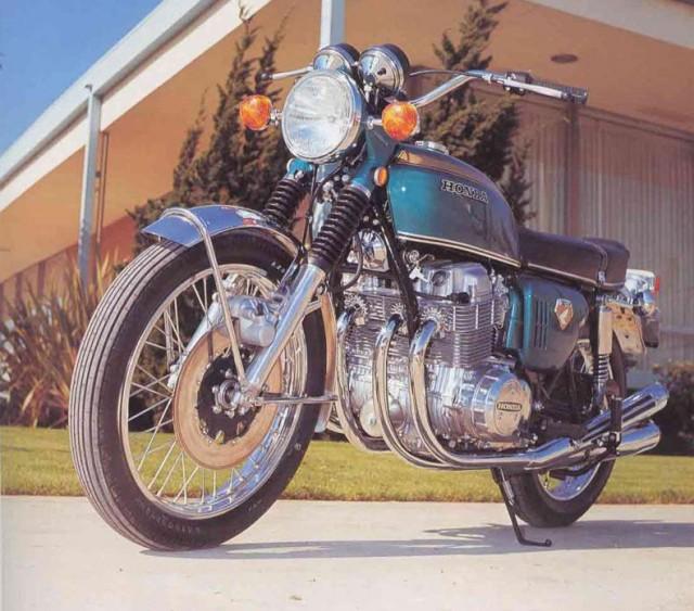 Honda CB750 1969 prototype 01