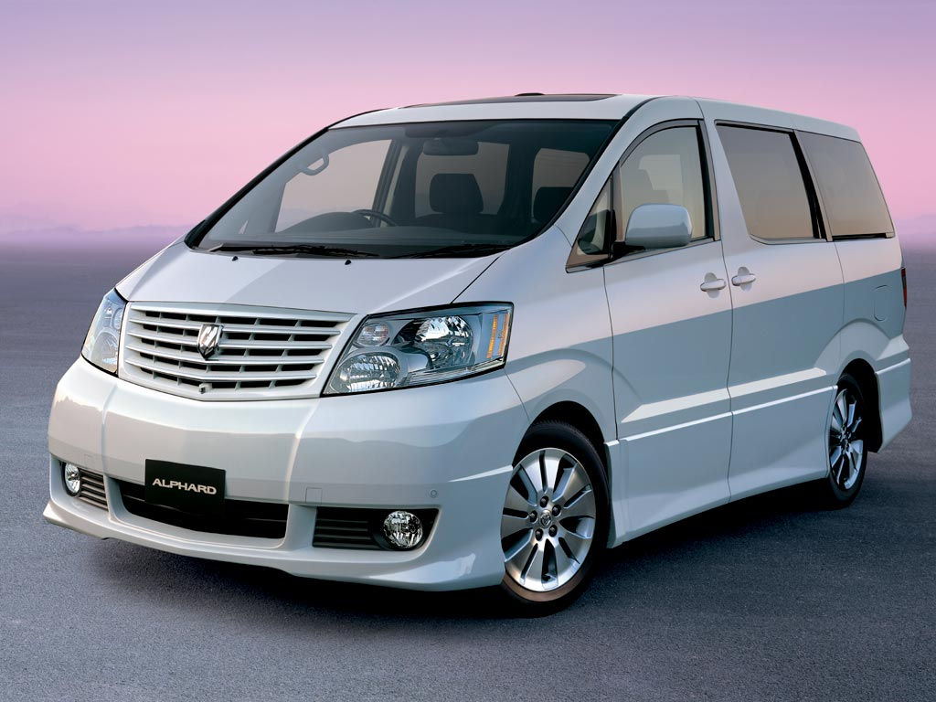 FUTURE NOSTALGIC: Toyota Alphard, King Of VIP Vans